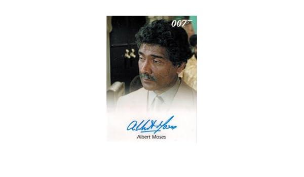 +Autogramm+ ++James Bond++ Albert Moses