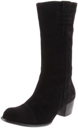 ara Women's Frances Boot,Black Suede,10.5 M US