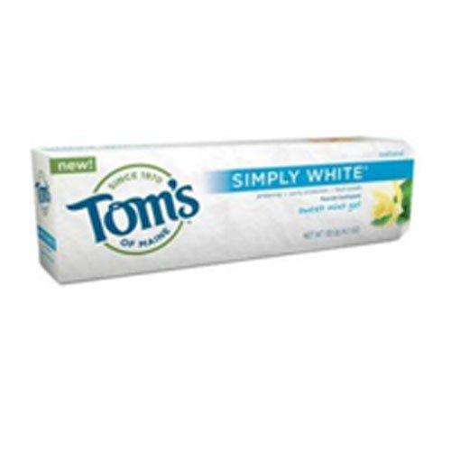 (Simply White Toothpaste Sweet Mint Gel, Sweet Mint Gel 4.7 oz (Pack of)