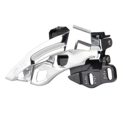 Swing Front Derailleur - SHIMANO SLX Dyna-Sys 3x10 Mountain Bicycle Front Derailleur - FD-M670A (Direct Mount - Down Swing/Low Direct Mount)