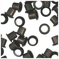 WIDGETCO 1/4'' Black Shelf Pin Sleeves