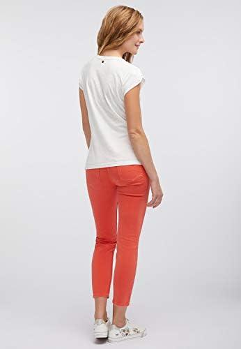 MUSTANG Regular Fit t-shirt damski - XS: Odzież