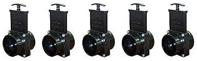 3 Slip 3 Slip Valterra Products Black Valterra 7301 ABS Gate Valve
