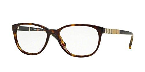 (Burberry Women's BE2172 Eyeglasses Dark Havana 52mm)