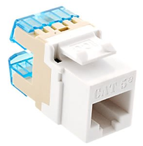 ICC IC1078F5WH Module, CAT 5e, HD, White