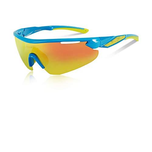 Men Women HD Polarized Cycling Sunglasses Bicycle Eyewear Ciclismo Glasses Mountain MTB Racing ()