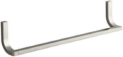 Kohler K-11580-BN Loure 18-Inch Towel Bar, Vibrant Brushed Nickel by Kohler
