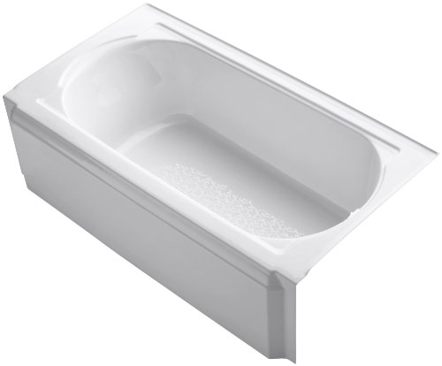 KOHLER K-722-0 Memoirs 5-Foot Bath, White ()