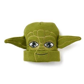 Star Wars Yoda Beanie/ Hat (Yoda Hat)