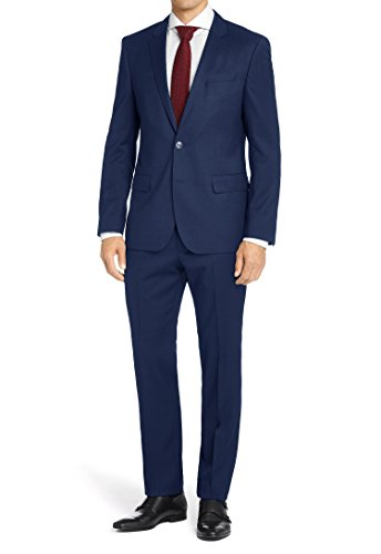 2 Piece Pinstripe Suit - 4