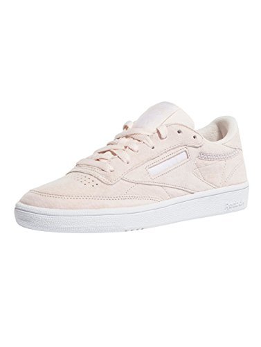 white Nbk Trim Shoes size 85 grey Reebok pink Club 40 C H0qxIX