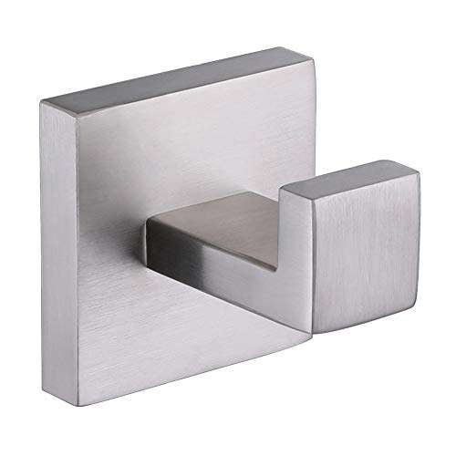 Single Robe Hook, Angle Simple SUS304 Stainless Steel Bath T