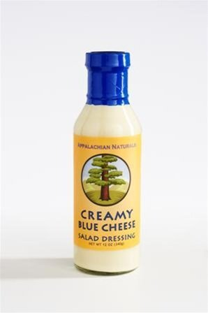 Appalachian Naturals Creamy Blue Cheese Salad Dressing 12 Oz (12 Pack) by Appalachian Naturals