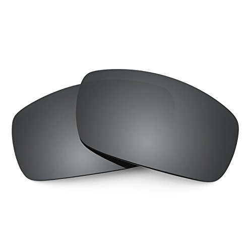 para Polarizados repuesto Mirrorshield DC de Opciones EC Electric múltiples — XL Negro Chrome Lentes Revant Eq6ROtY