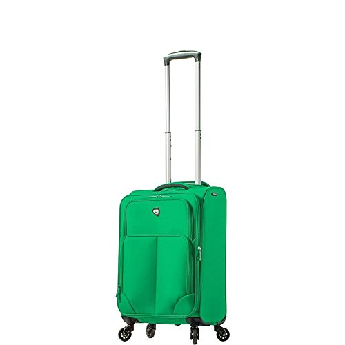 mia-toro-italy-leggero-softside-20-spinner-luggage-mint