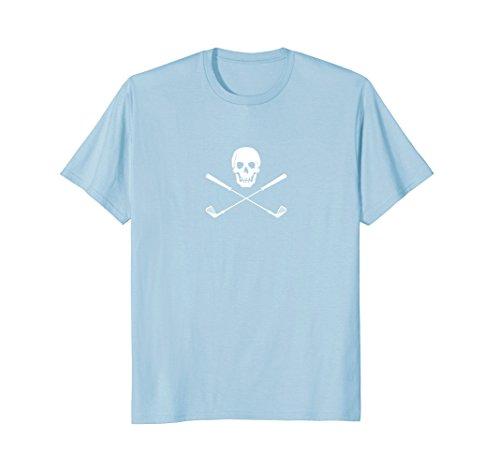 Golf Shirt Men Women Skull Golf Clubs T-shirt Pirate Tiger