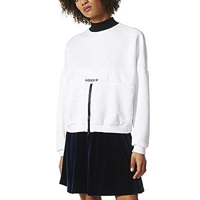 adidas Zip Through Sweatshirt Womens