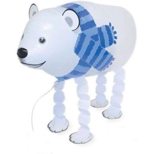 MY BALLOON STORE  Walking Animal PET AIR Walker Helium Balloon Party Decor Fun (Polar -