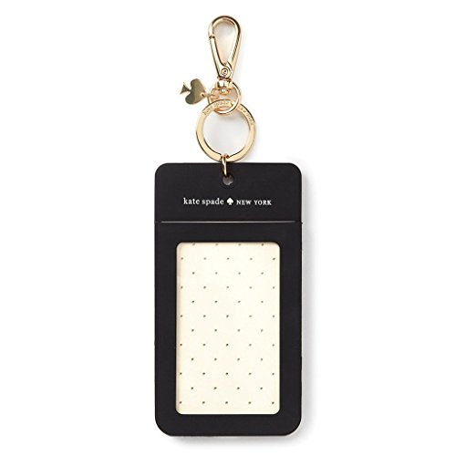 Kate Spade New York Women's Id Clip, Black Dot,
