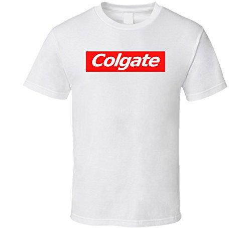 colgate-supreme-inspired-t-shirt-l-white