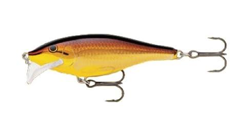 Golden Alburnus Rapala Scatter Rap Shad 07 Fishing Lure