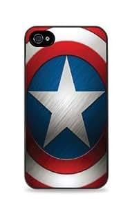 Captain America Shield Apple iPhone 5 / 5S Case - Black - 313