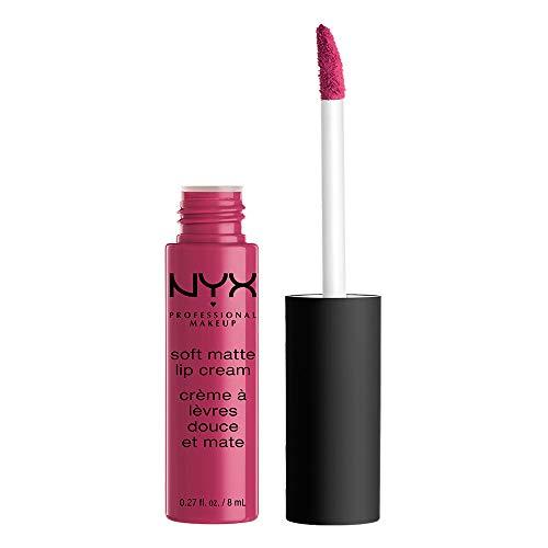 NYX PROFESSIONAL MAKEUP Soft Matte Lip Cream, Prague, 0.27 Fluid Ounce