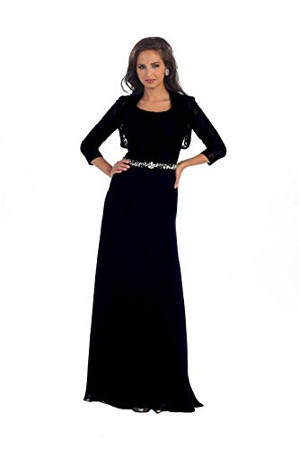 long dresses with bolero jackets - 7