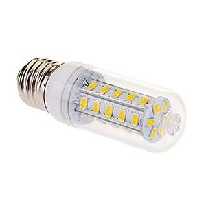 E27 9W 36x5630SMD 760LM 2500-3500K Warm White Light LED Corn Bulb (220-240V)