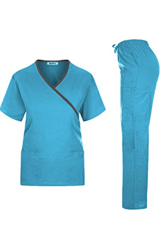 MedPro Womens Contrast Trimmed Medical