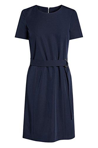 next Mujer Vestido Oficina Cinturón Petite Azul Marino