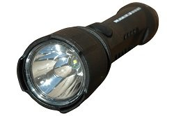 Explosion Proof LED Flashlight - 4 Watt - Push Button Switch - MADE IN THE USA(-Black)