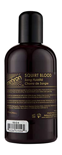 Mehron Makeup Squirt Blood (9 oz) (DARK -