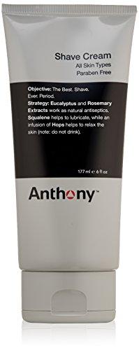 Anthony Logistics for Men Crème à raser, 6 fl. oz