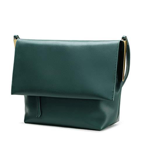 Bolso Mint Vintage Bandolera De Tsutou Para Compras Viaje Cuero Bolsa Green Green Mujer color d1Zqa5PxW