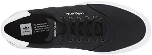 adidas Originals 3 MC Skate Shoe Black/White, 13 M US