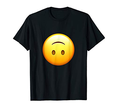 Silly Upside Down Smiley Face T-Shirt