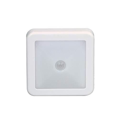 (Yu2d  6 LED Wireless PIR Auto Motion Sensor Infrared Night Light Cabinet Stair)