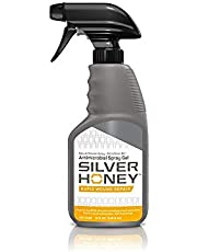 Silver Honey Rapid Wound Repair with Manuka Honey and MicroSilver, Powerful Natural Fast-Acting Equine Wound Care, Veterinarian Tested Animal Wound Care
