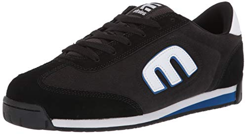 Etnies Men's LO-Cut II LS Skate Shoe, Black/Charcoal/Blue, 11 Medium US ()