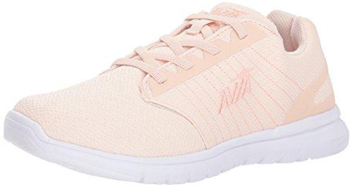 Avia Women's Avi-Solstice Walking Shoe, Rosewater/White, 6 M US