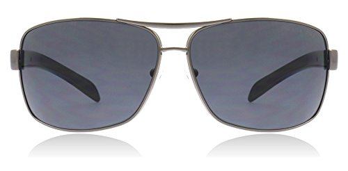 Prada Sport PS54IS Sunglasses-5AV/6S1 Gunmetal (Brown Gradient Lens)-65mm