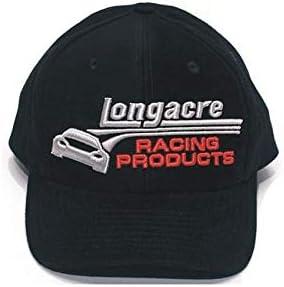 Longacre Racing 52-11655 3D HAT Black
