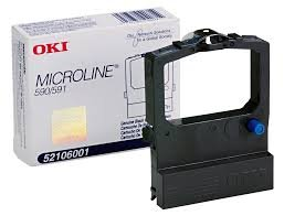 Okidata Genuine Brand Name, OEM 52106001 Black Ribbon Cartridge (4M Characters) for MicroLine 590, MicroLine 591 s (Oki Black Okidata Cartridge Ribbon)