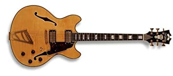 D angelico ex-dc stairstep cordal doble Cutaway semi-hollowbody guitarra eléctrica (
