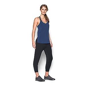 Under Armour Women's Featherweight Fleece Crop, Black/Graphite, X-Large