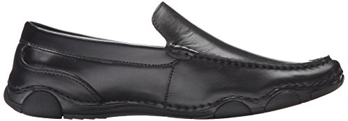Kenneth Cole Reaktion Mens College Tour Slip-on Loafer Svart