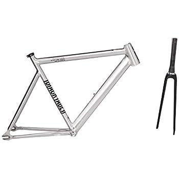 Image of Fixed Gear Bike Frames State Bicycle Co. Black Label 6061 v2 Aluminum Frame and Carbon Fork Set