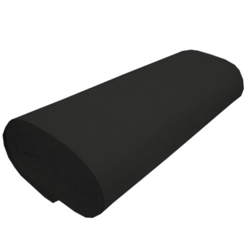 Black Fabric Acrylic - Nu-Source Inc. 100% ACRYLIC FELT-1281, 72