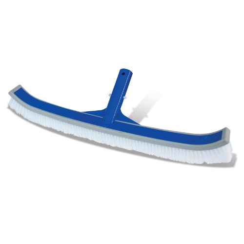 Poolmaster 20160 Vinyl Liner Pool Brush w/Rubber Bumper for use Above/In ground (Vinyl Pool)